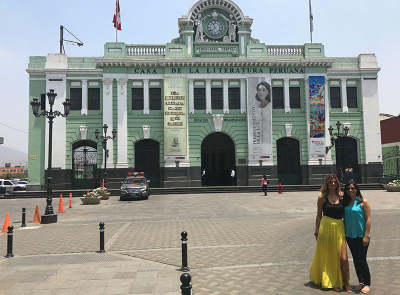 Estación de los desamparados Lima