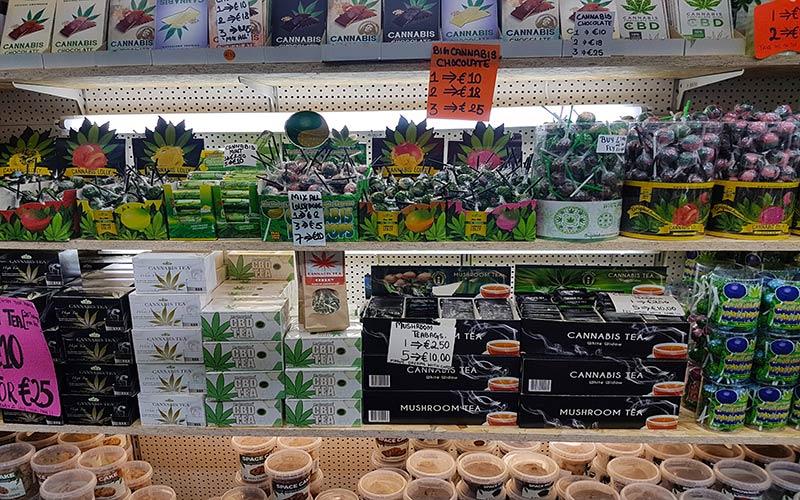 Tiendas de productos de Marihuana