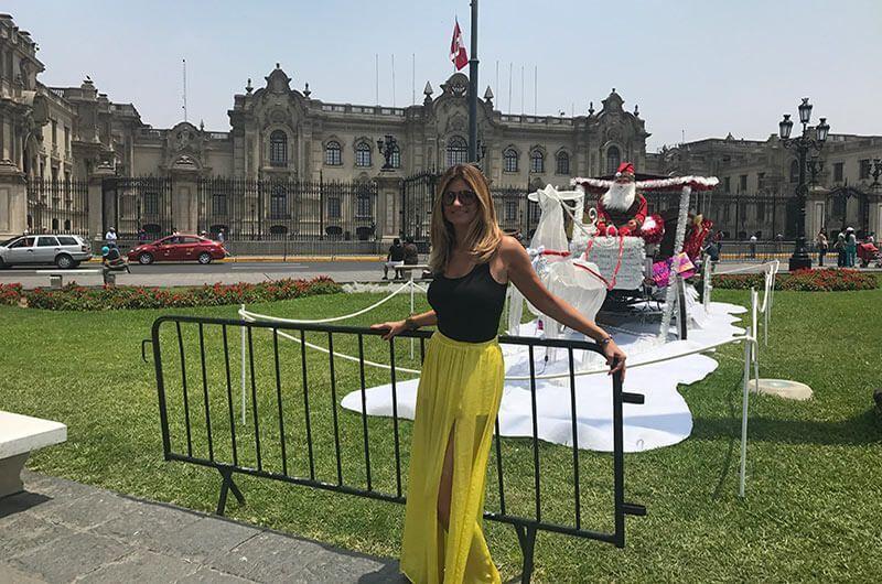 Palacio de gobierno Lima