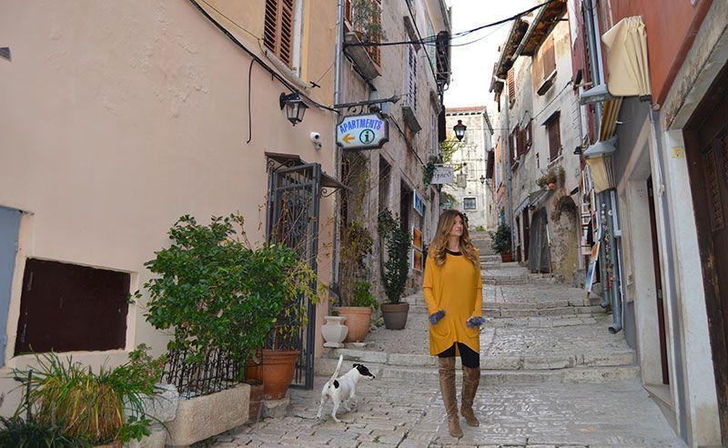 calles de Rovinj