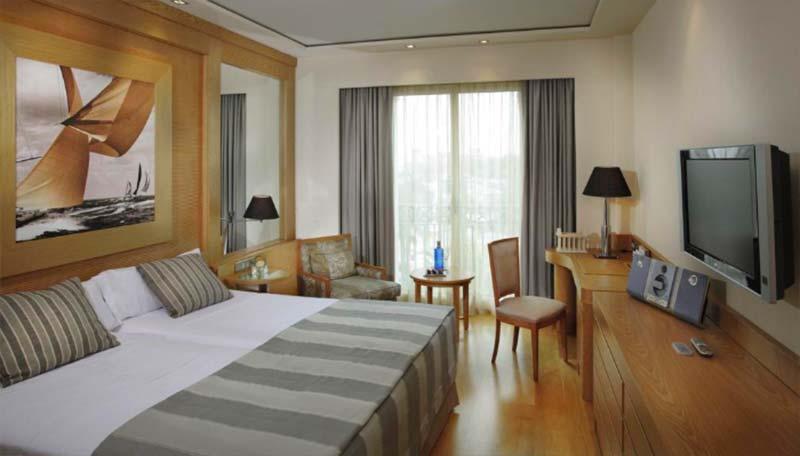 Habitaciones del Hotel Las Arenas