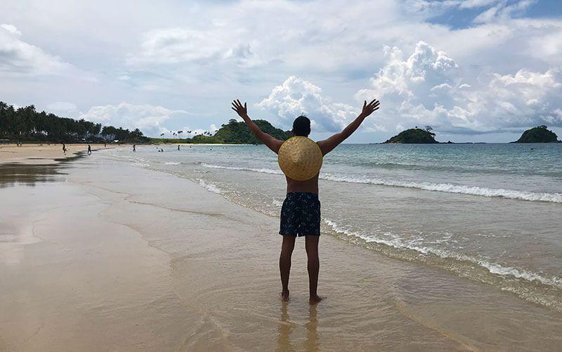 Nacpan beach Fillipinas
