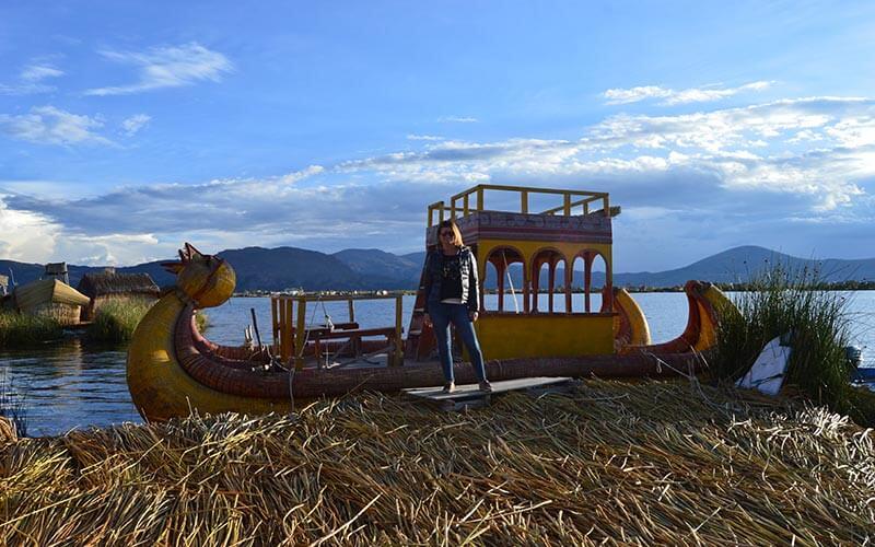 barcos de totora