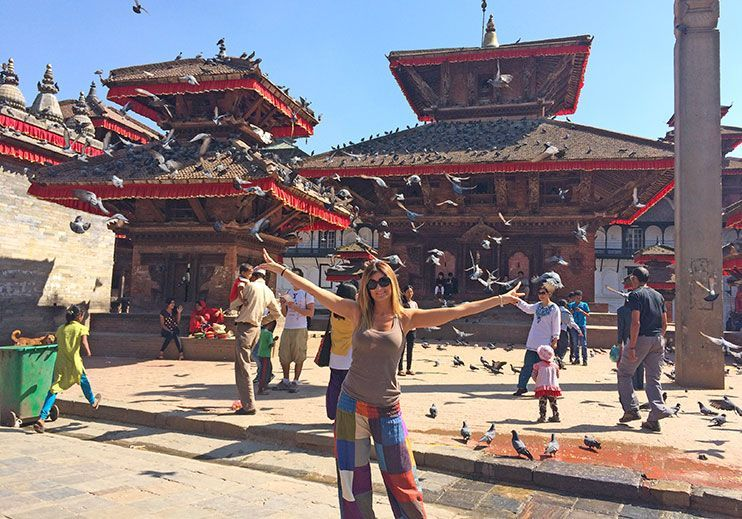 Durbar square Katmandú
