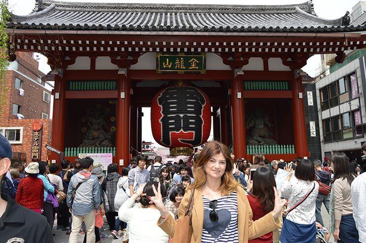 Puerta Kaminarimon Asakusa
