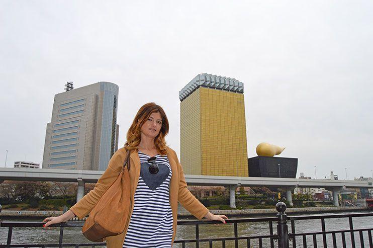 Torre de la cerveza Asahi Asakusa