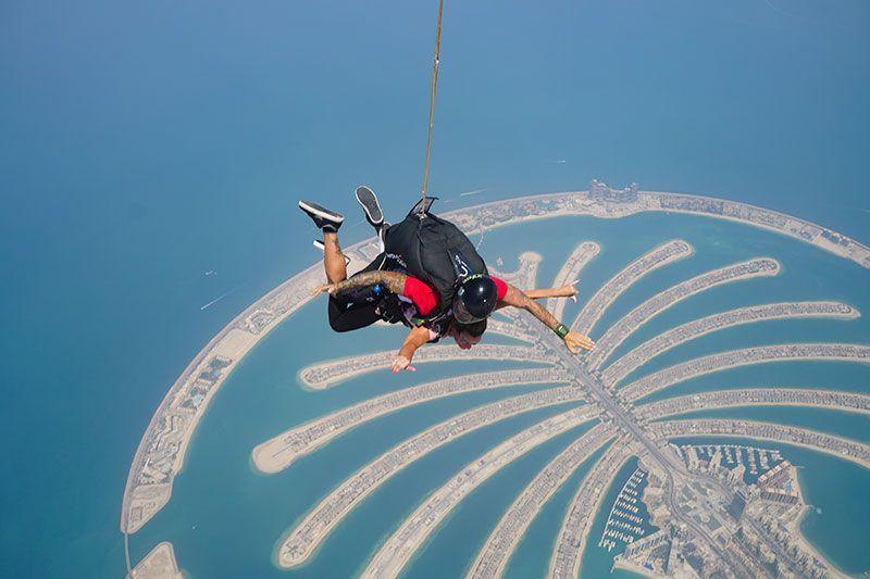 Isla de la palmera Dubai
