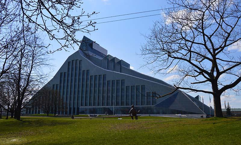 Biblioteca de latvia