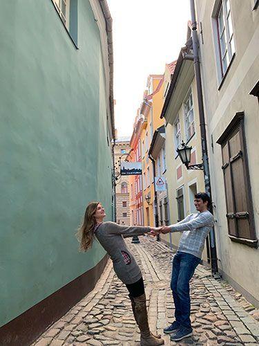 Calles de Riga