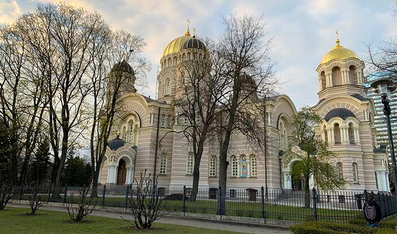 Catedral ortodoxa Riga