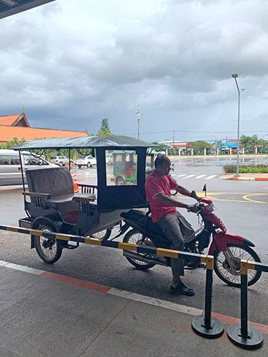 Cómo moverse en Siem Reap
