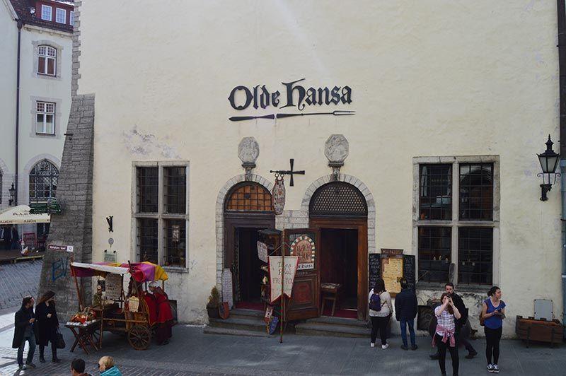 Dónde comer en Tallin