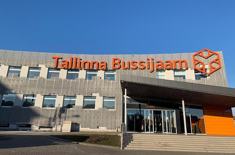 Estación de autobuses de Tallin