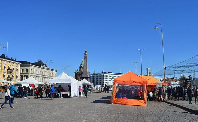 Mercado Kauppatori que ver en Helsinki