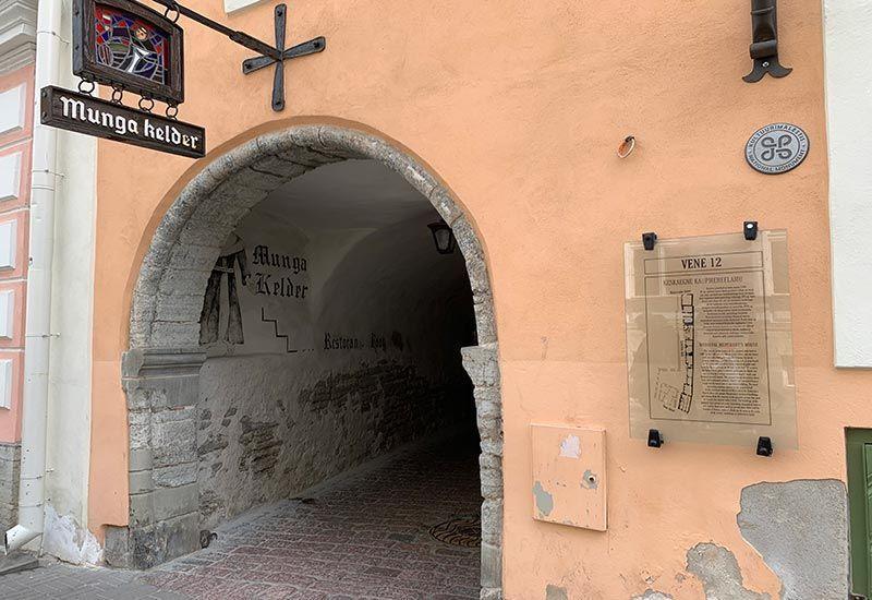 Pasaje Santa Catherina Tallin