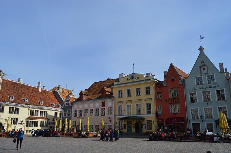 Plaza del ayuntamiento Tallin