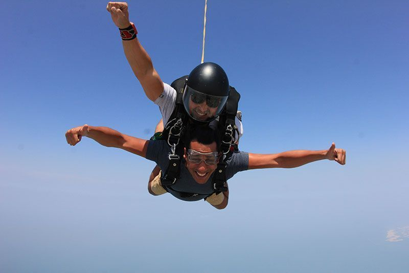 Tandem Skydive Dubai