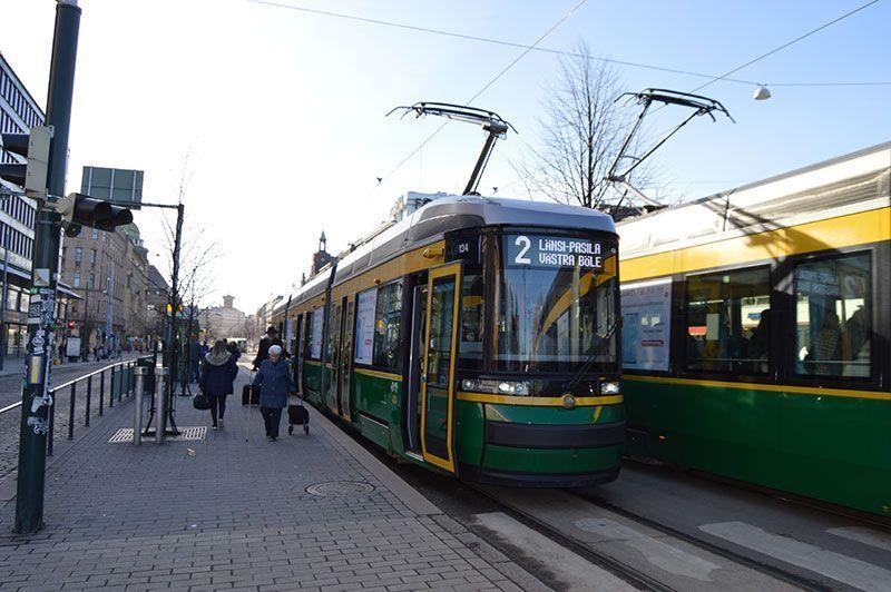 Tranvía de Helsinki