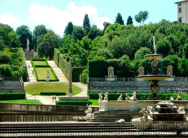 Jardín Boboli Florencia