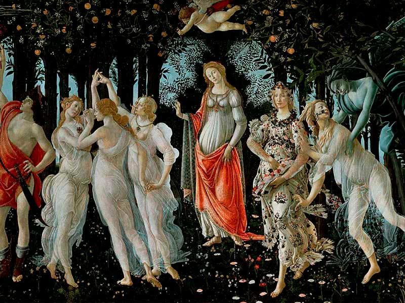 Galería Uffici Florencia