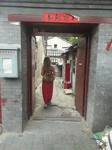 Hutongs Pekín