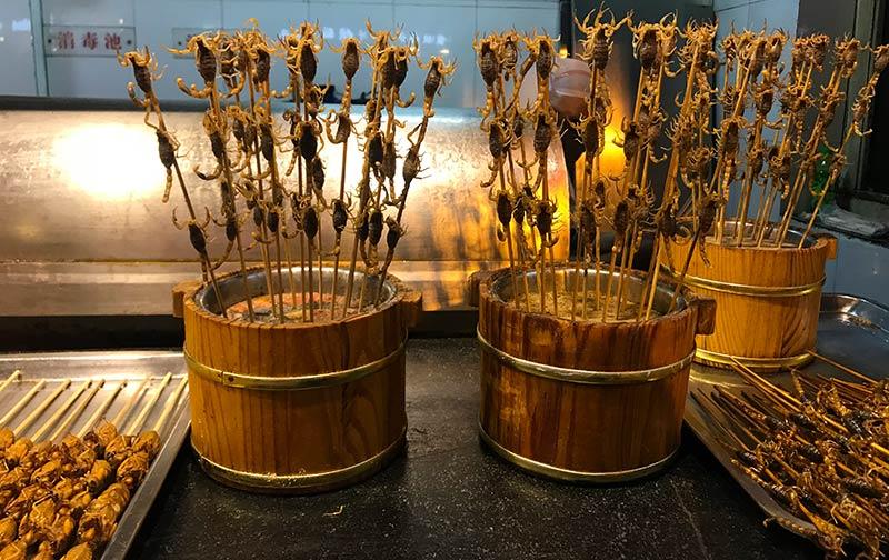 Mercado Wanfujing beijing