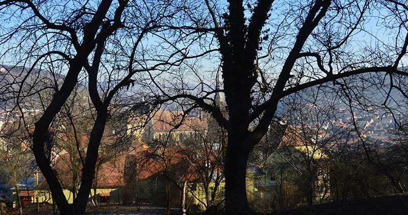 Mirador de la colina Sighisoara