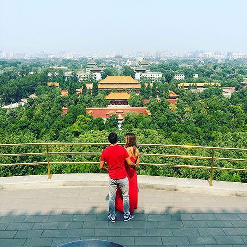 Parque Jingshan beijing