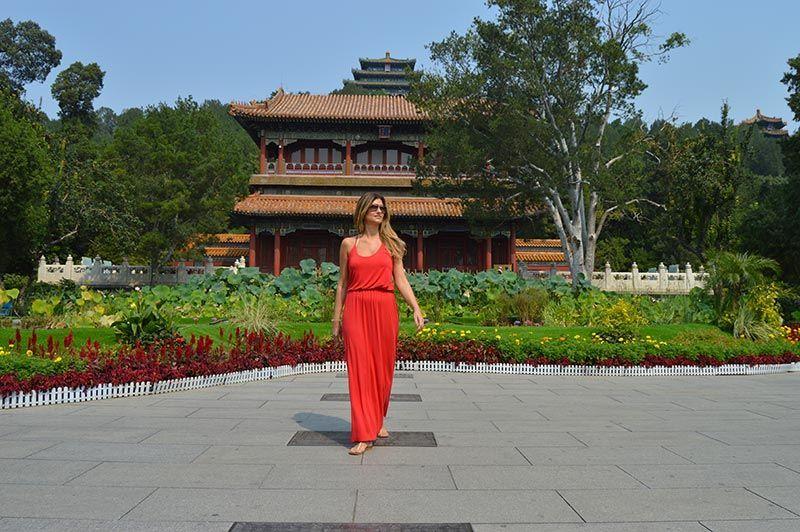 Parque Jingshan Pekín