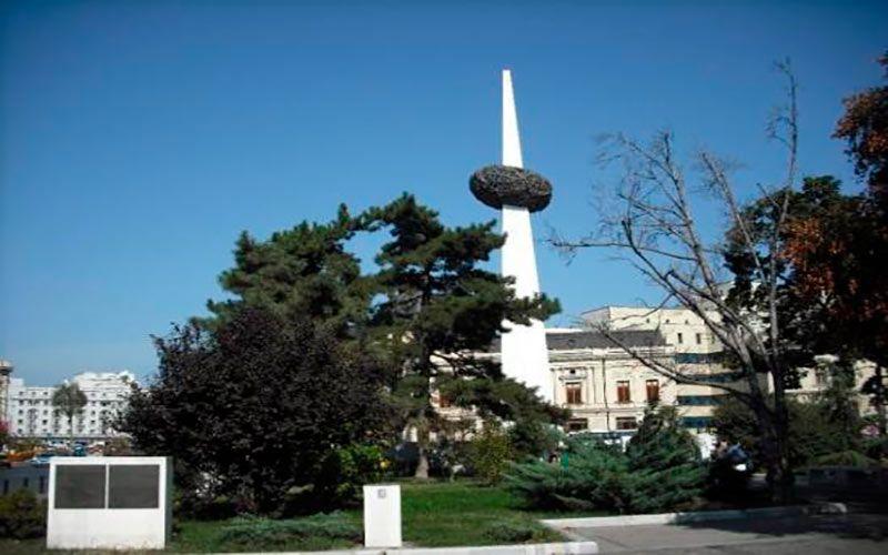 Plaza de la revolución Bucarest