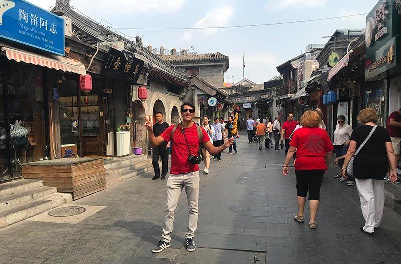 Quianhai lake Pekín