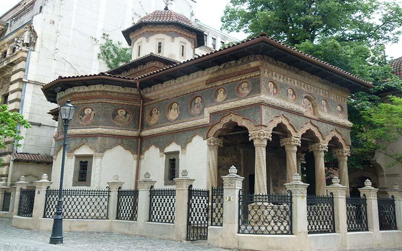 Iglesia Stavropoleos Bucarest