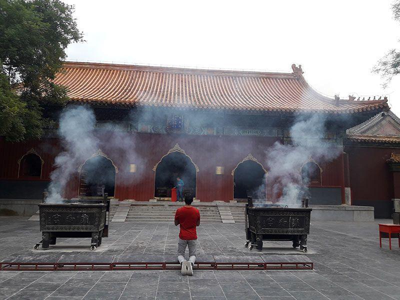 Templo de los lamas Pekín