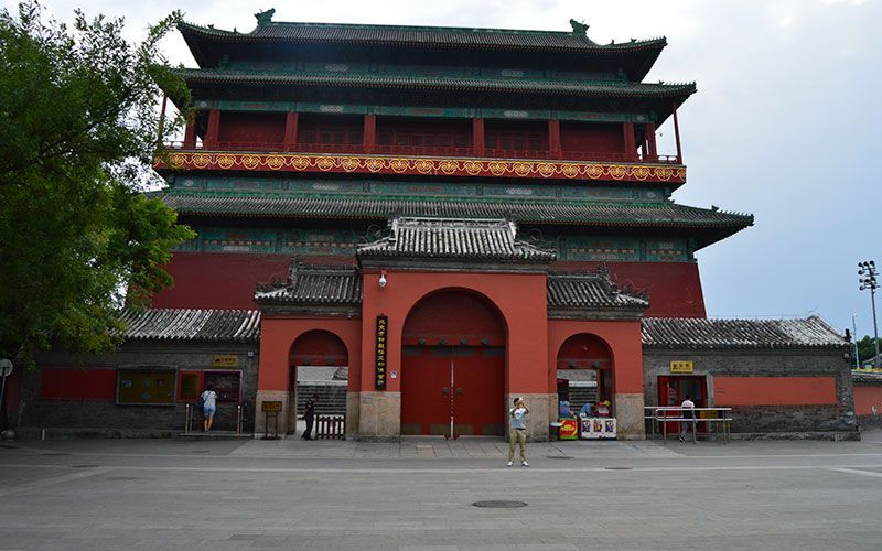 Torre del Tambor Pekín