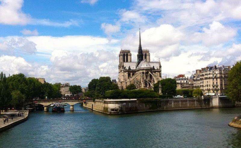 Isla de la Cite Notre Dame