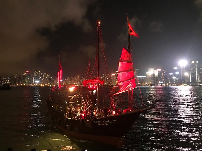 Aqua luna Hong Kong