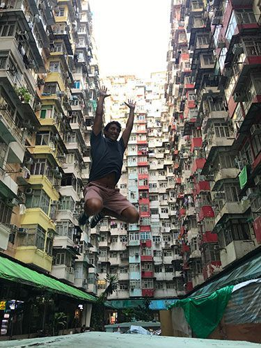 Yik Cheong Building Hong Kong