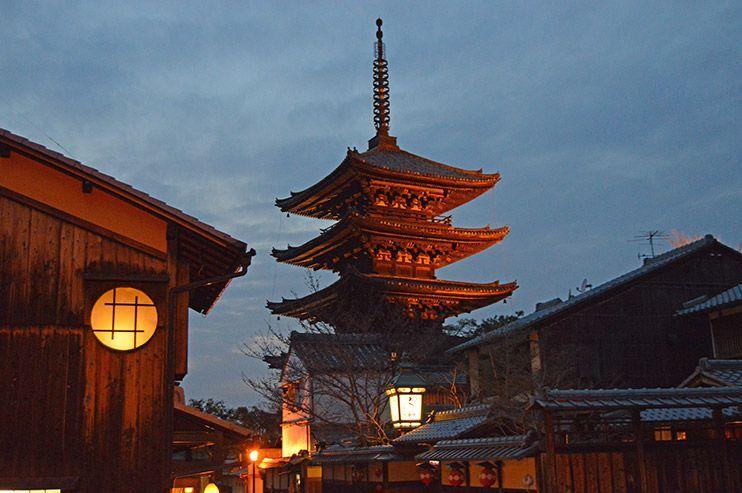 Calles Sannenzaka y Ninenzaka Kioto