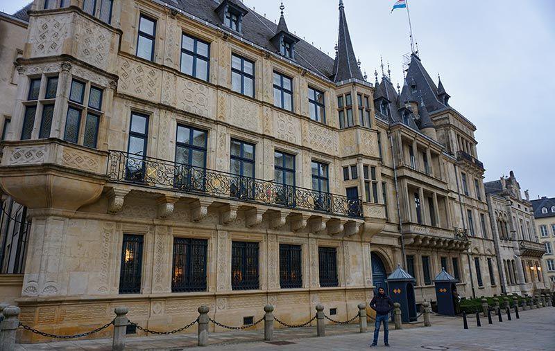 Palacio Gran Ducal de Luxemburgo