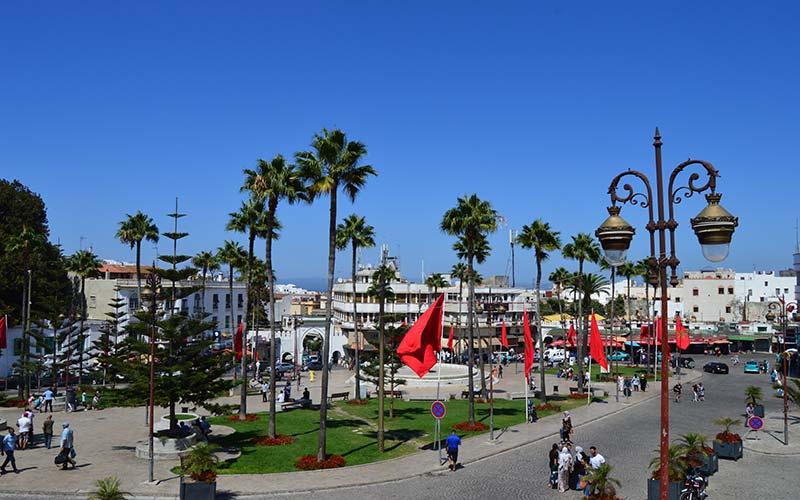 Plaza 9 de Abril Tánger