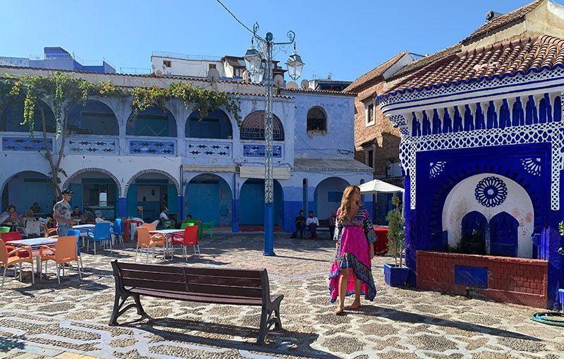 Plaza el Hauta Chefchaouen