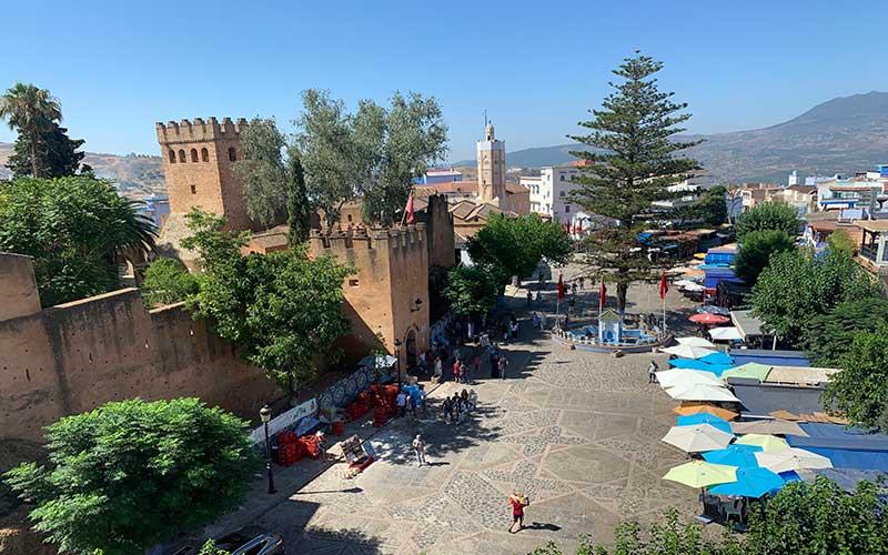 Plaza Uta el Hamman Chefchaouen
