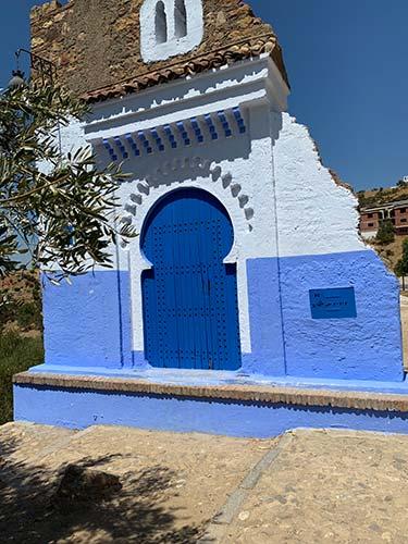 Puerta de entrada a Chaouen