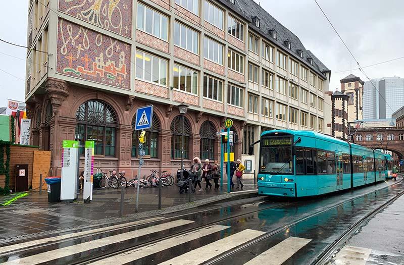 transporte Frankfurt