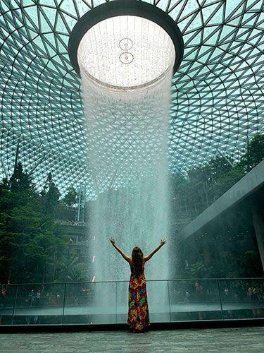 Jewel Changi Aeropuerto de Singapur