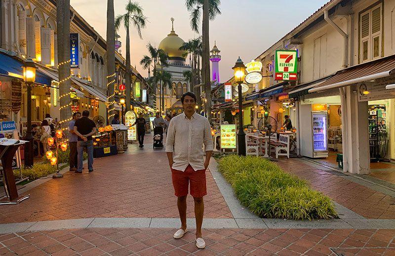 Bussora street Singapur