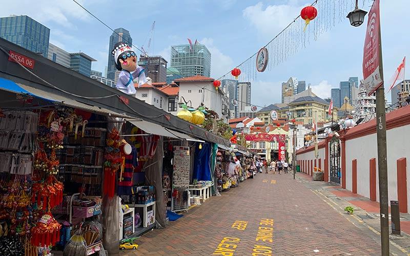 Pagoda street Singapur