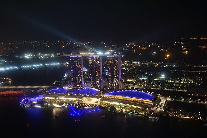 Vistas del Marina Bay Sands