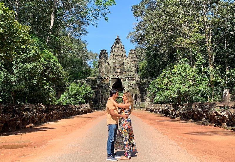 Angkor Thom East Gate