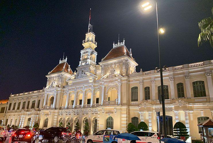 Ayuntamiento de Saigon que ver en Ho Chi MInh